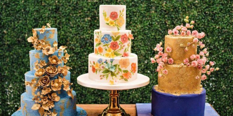 2020 wedding cake trends